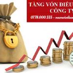 Thủ tục tăng vốn đầu tư doanh nghiệp tư nhân