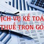 Dịch vụ kế toán trọn gói uy tín 499.000đ/tháng