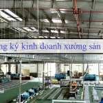 Đăng ký kinh doanh xưởng sản xuất