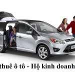 Đăng ký kinh doanh cho thuê xe ô tô