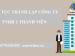 Thủ tục thành lập công ty TNHH 1 thành viên