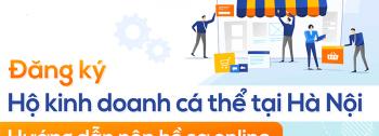 Thủ tục đăng ký hộ kinh doanh cá thể tại Hà Nội