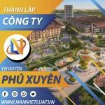 Dịch vụ thành lập công ty tại huyện Phú Xuyên Hà Nội