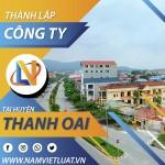 Dịch vụ thành lập công ty tại huyện Thanh Oai Hà Nội