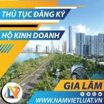 Thủ tục đăng ký hộ kinh doanh cá thể tại huyện Gia Lâm Hà Nội