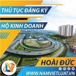 Thủ tục đăng ký hộ kinh doanh cá thể tại huyện Hoài Đức Hà Nội