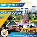 Thủ tục đăng ký hộ kinh doanh cá thể tại huyện Mê Linh Hà Nội
