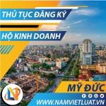 Thủ tục đăng ký hộ kinh doanh cá thể tại huyện Mỹ Đức Hà Nội