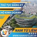 Thủ tục đăng ký hộ kinh doanh cá thể tại quận Nam Từ Liêm Hà Nội