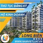 Thủ tục đăng ký hộ kinh doanh tại quận Long Biên Hà Nội